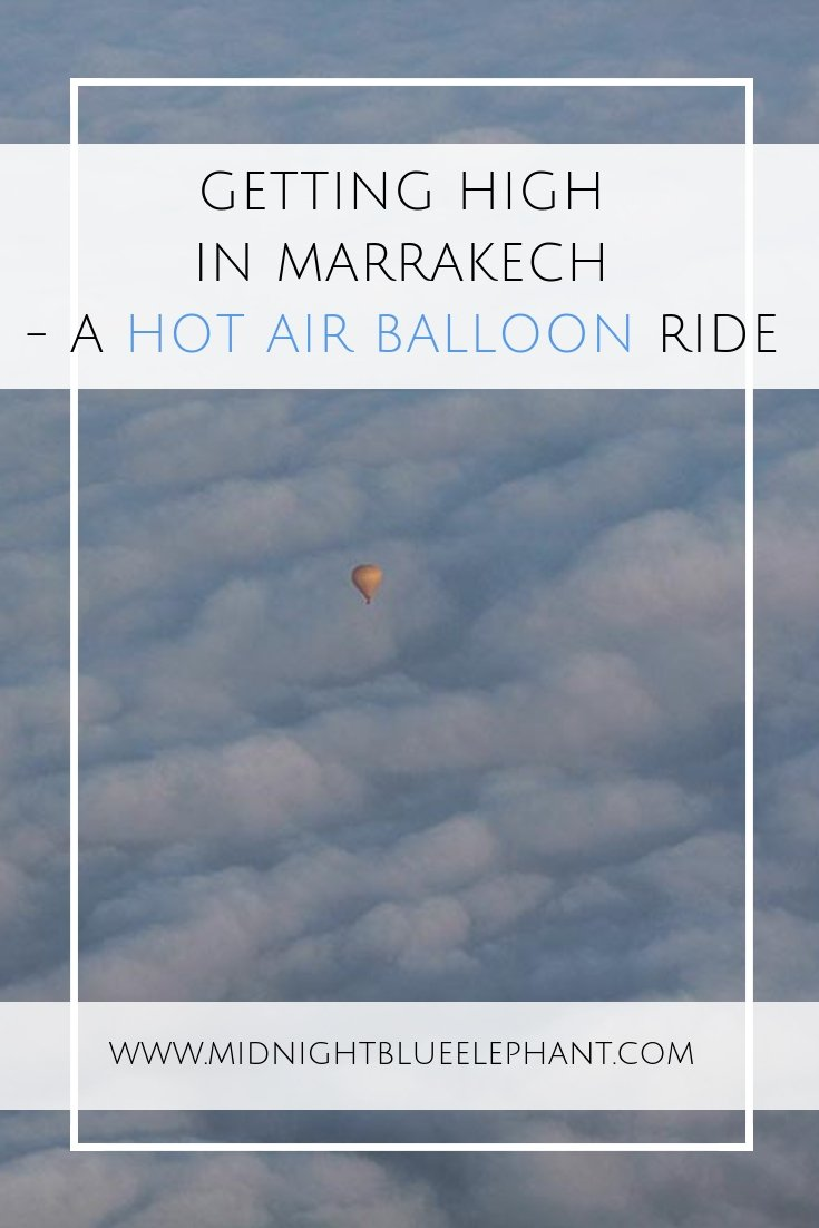 Looking for some day trips from Marrakech and maybe even get high? Here is a way, 100% legal and & inducing - get on a hot air balloon, Marrakech and see the desert from above.