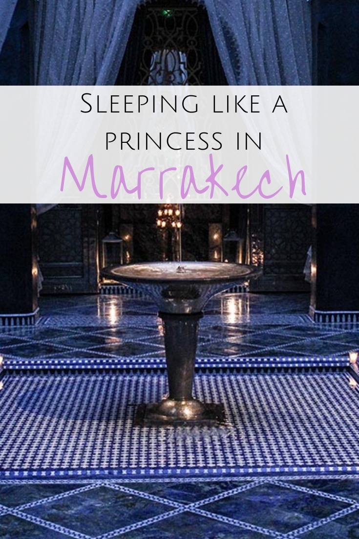 Want to be a princess? Check into the Royal Mansour, the ultimate luxury hotel, Marrakech owned by the king - glass slippers & golden snacks included!