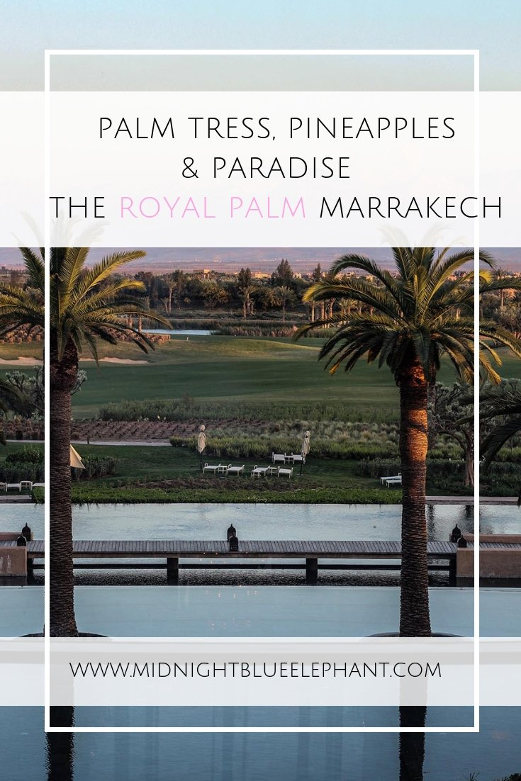 Looking for a hotel in the countryside but close enough to Marrakech's action? Head to the Royal Palm Marrakech for stunning Atlas mountain views, palm trees & the best pool in town. #morocco #marrakech #royalpalm #atlasmountains #fairmont