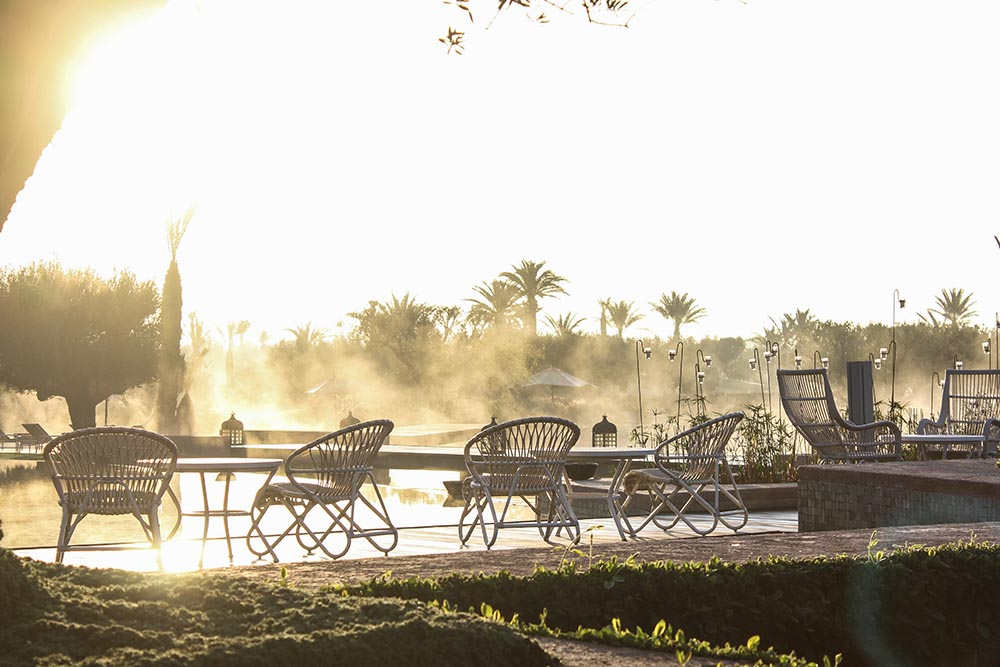 Looking for a hotel in the countryside but close enough to Marrakech's action? Head to the Royal Palm Marrakech for stunning Atlas mountain views, palm trees & the best pool in town.