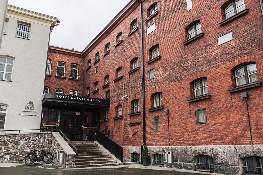 How about spending a night at the prison hotel Helsinki and staying in for a night? Perfect place for a little travel break.