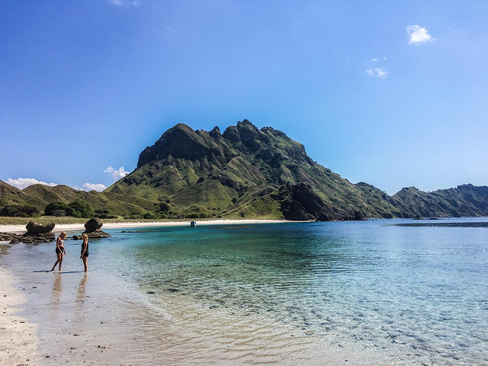 Want to see real dragons? Head to Pulau Komodo in Indonesia where you can get close with the last remaining Komodo dragons in the wild at the Komodo National Park.