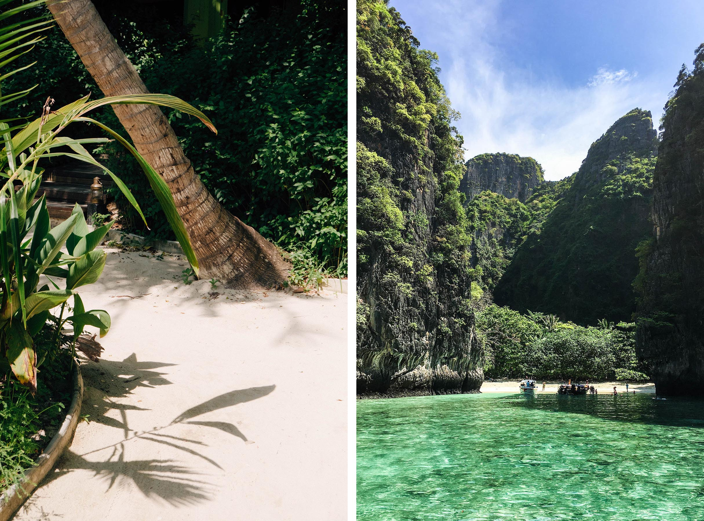 Looking for a true eco resort in Thailand? I found one on Koh Phi Phi! PADI divecenter, barefoot luxury & just a speedboat ride from Phuket.