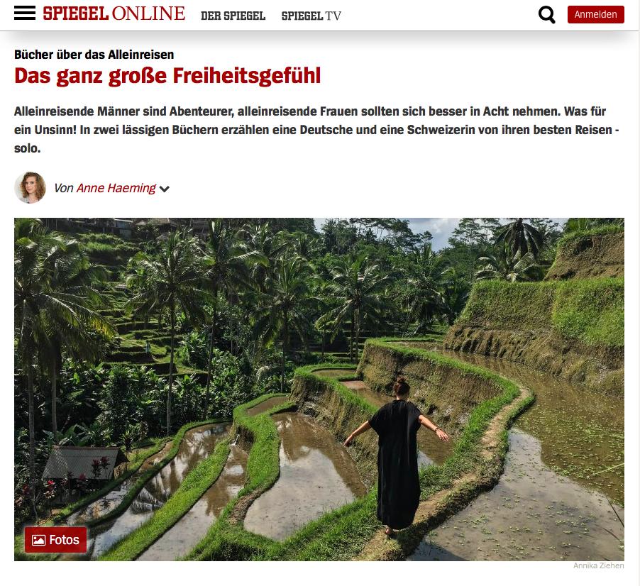 Spiegel Online | Solotrip | Annika Ziehen