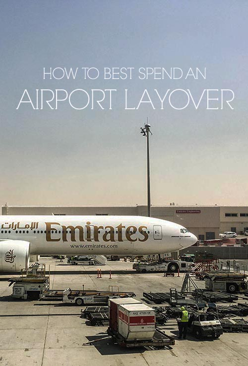 Have a long airport layover and don't know how to spend the time? Here are my best tips inside and out of the airport.