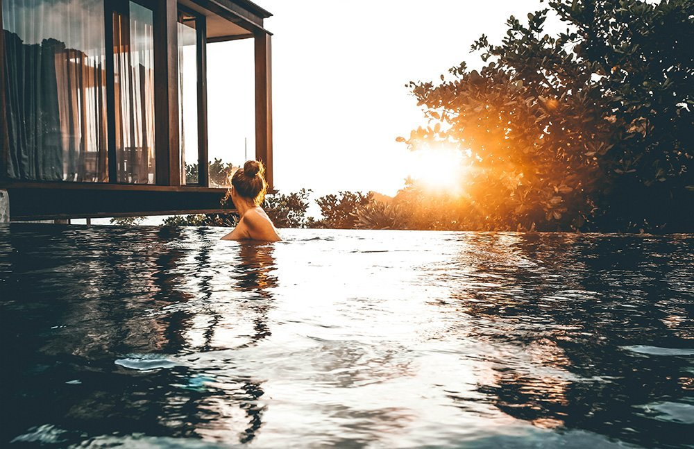 Need to get over a heartbreak while traveling? I can recommend just the place - a luxury hotel in Phuket, Thailand - perfect to get over him in no time!