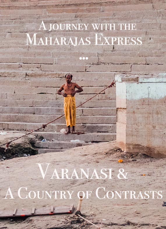 Varanasi and a trip down the river Ganges is a highlight for many India visitors. It also shows the discrepancy of the country: rich & poor, life & death, joy & sorrow. #india #varanasi #incredibleindia