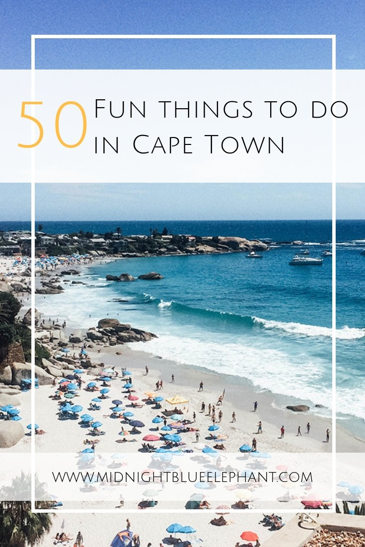 Looking for fun things to do in Cape Town, South Africa? Local favorites from abseiling Table Mountain to paragliding, snorkeling with seals in the Atlantic, the best beaches, outdoor cinema, concerts & the best Cape Town food. What to do in Cape Town | Things to do in Cape Town, South Africa | Best beaches in Cape Town | Cape Town activities | Local things to do in Cape Town #southafrica #capetown