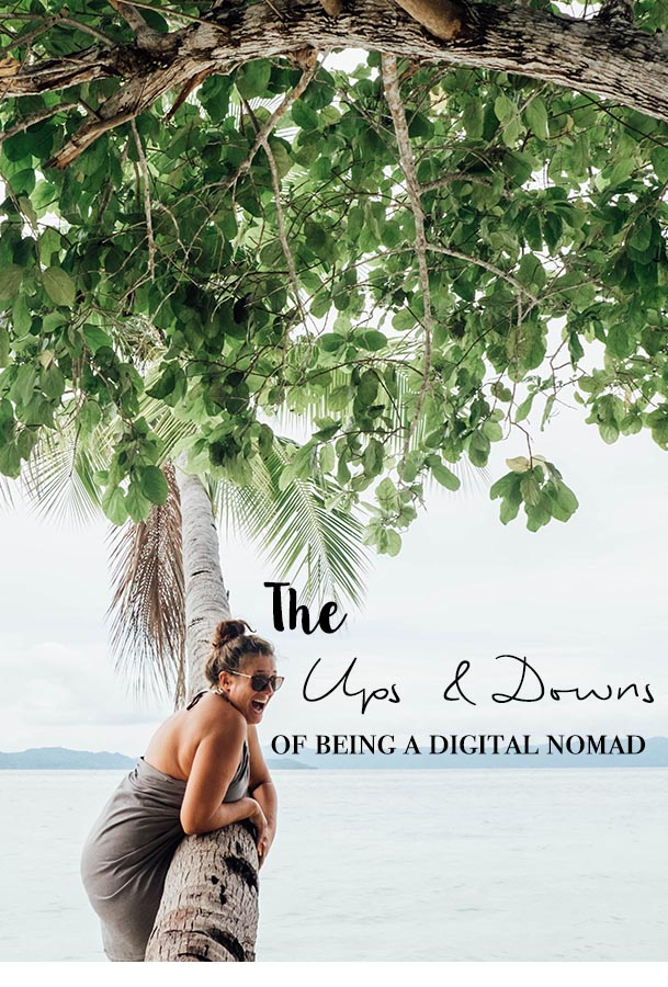 Being a digital nomad is something many people dream of. A very honest post about the ups and downs of life on the road and why I chose it though the odds aren't in my favor. #digitalnomad #travelblogger