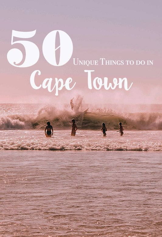 Looking for unique things to do in Cape Town, South Africa? Together with JetJournal I have created the ultimate list of my favorite things to do in the Mothercity. #southafrica #capetown