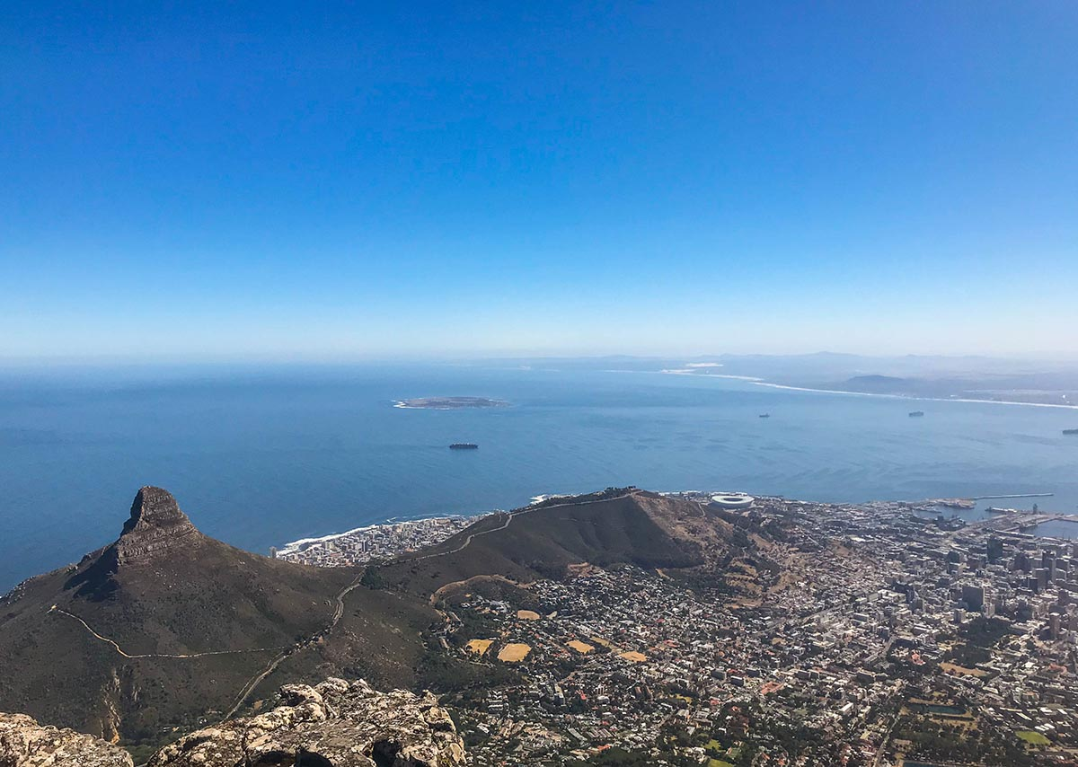 Hiking Table Mountain is the rite of passage for Cape Town visitors. Take the Platteklip Gorge route up for the fastest ascent & amazing views over Signal Hill, Lion's Head and Devil's Peak.