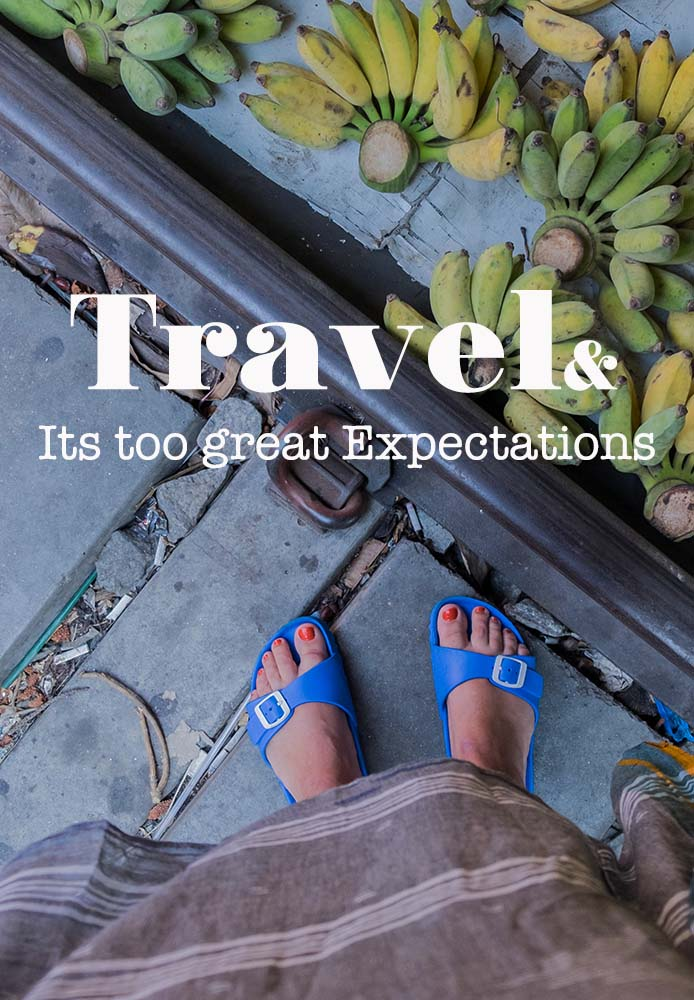 Is travel meant to transform our lives? Seems to be a reason for so many why they travel. But is that not putting too great expectations into the whole matter? #travel #quote #thailand