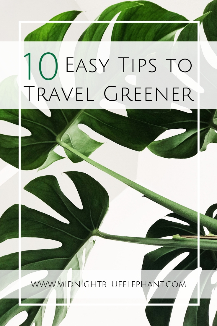 10 Easy tips to green travel even if you are a lazy traveler. How to chose an eco friendly hotel, eco friendly packaging & how to be a responsible traveler. How to skip on single-use plastic and still get Starbucks, the best reef-friendly sunscreen, what I really think of the diva cup, and how great a bamboo toothbrush is. #greentravel #traveltips #ecofriendly #travel #wastefreeworld #responsibletravel