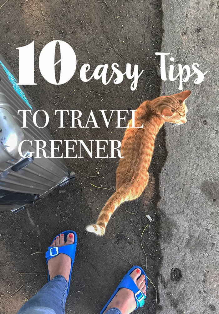 Are you looking for some easy to implement tips to green travel? Even if you are a lazy traveler, I'v got you covered - eco friendly travel made a easy. #greentravel #ecofriendlytravel #travel #greentips