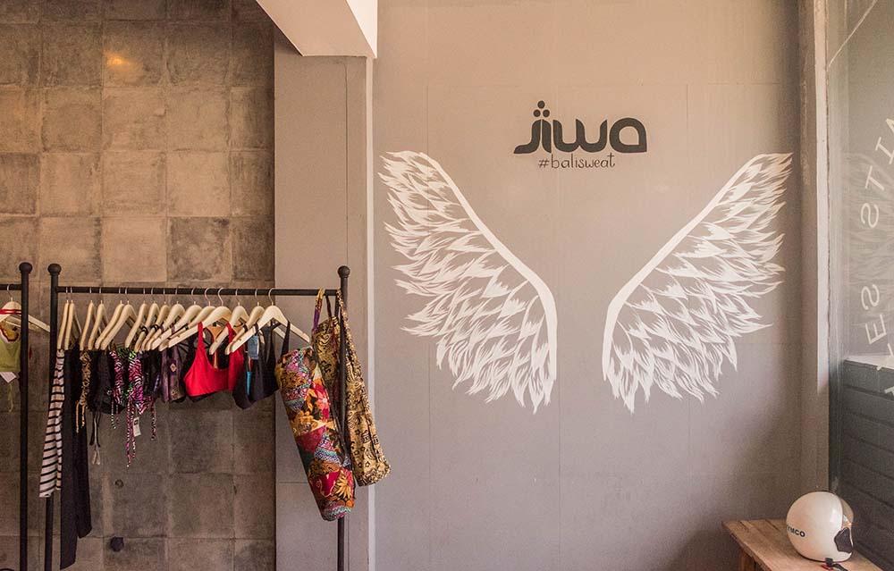Jiwa Yoga Studio in Seminyak, Bali