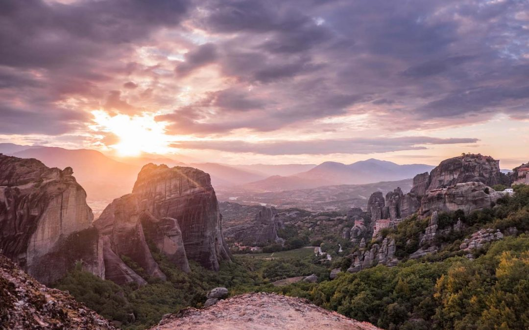 Clouds on the Rocks – Visit Meteora, Greece