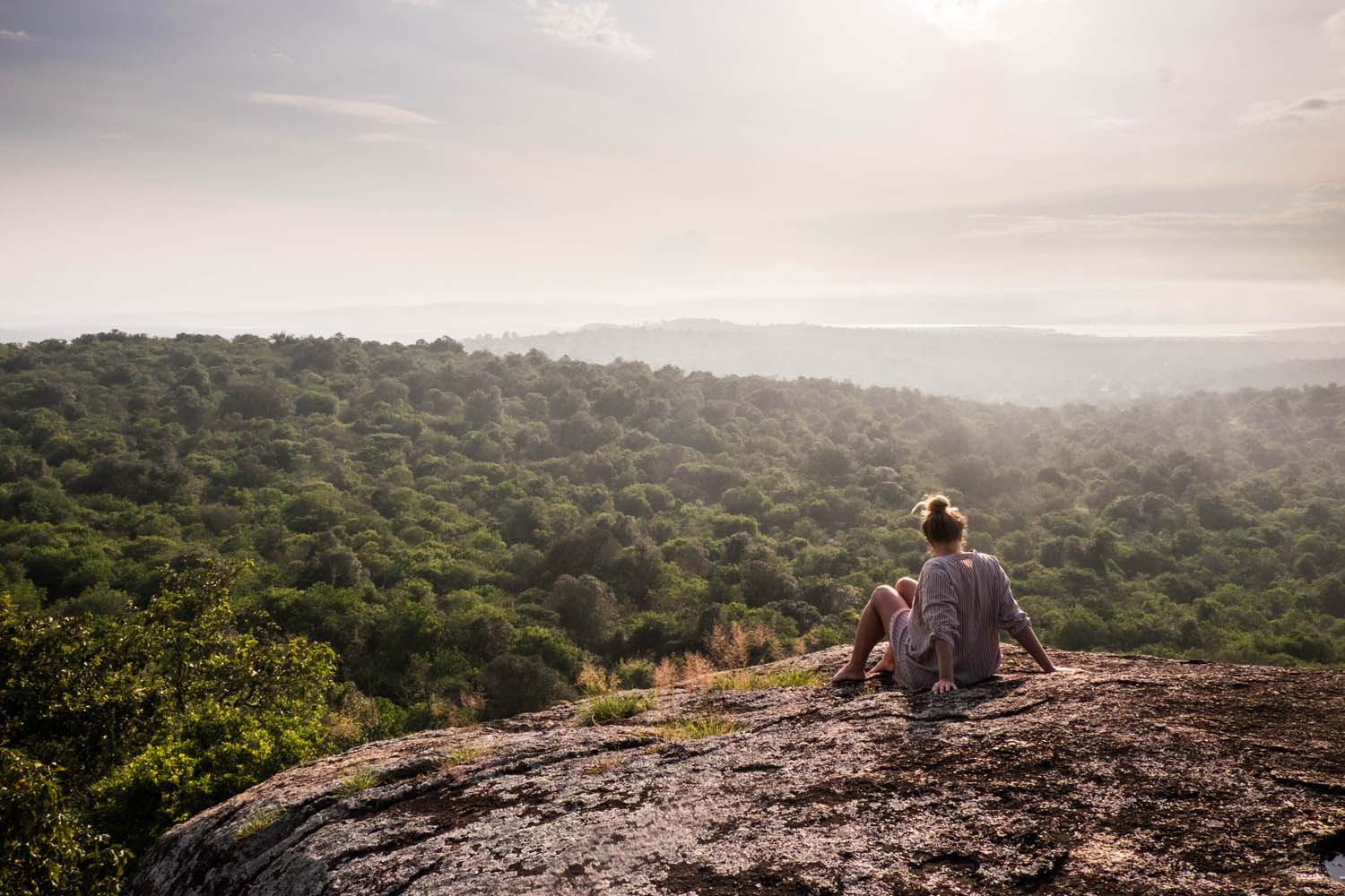 Do you want to combine the experience of staying in one of the top luxury lodges in Uganda, Africa with some innocent monkey business? I've found just the place for you in the country's most charming national park Lake Mburo.