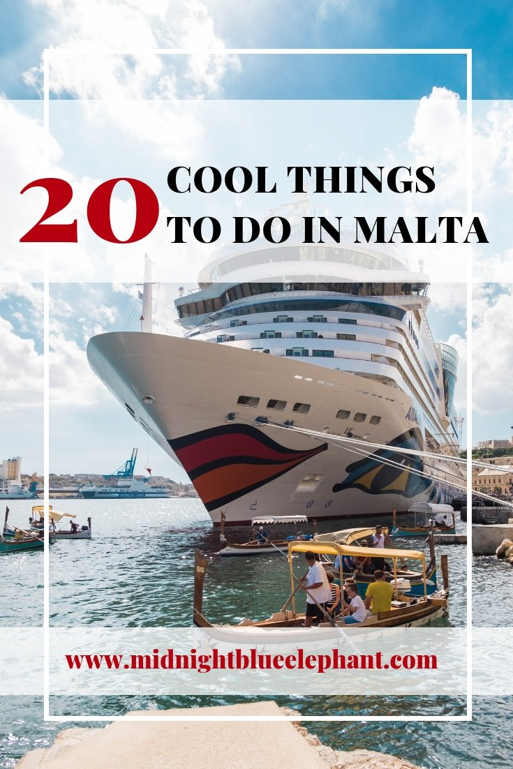 Malta is tiny but mighty. Europe's 5th smallest country really knows how to pack a punch with plenty to explore and do around its cities Valletta, Mdina, and Rabat. I share cool things to do in Malta & travel tips on where to stay and how to get around. Where is Malta | Things to do in Malta | Cities in Malta | Malta Itinerary | What to do in Malta and Gozo #malta #gozo