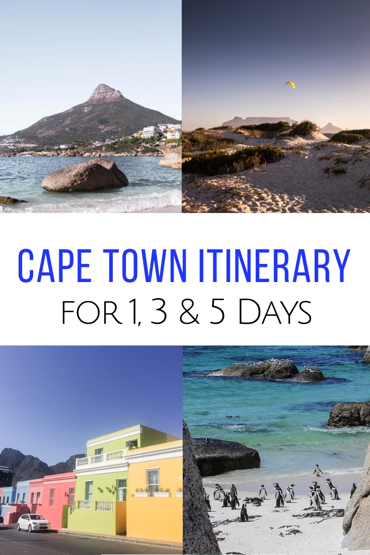 Whether you have 1, 3 or 5 days, this unique Cape Town itinerary will make sure you see the best! True insider tips from a local on how to plan your trip. #capetown #southafrica  What to do in Cape Town | Cape Town activities | A week in Cape Town | Cape Town holiday planning | Where to stay in Cape Town, South Africa #capetown #southafrica