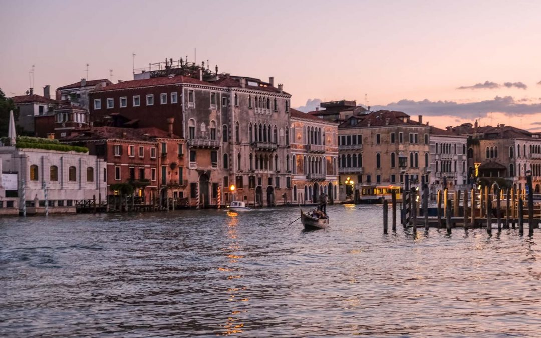 A weekend in Venice.