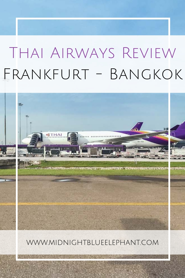 Heading to Thailand & want a reputable, comfortable airline to get you to Bangkok? Read my Thai Airways review - economy class all the way! From booking and customer service to check-in in Frankfurt, onboard entertainment, food and amenities on a Thai Airways flight to Bangkok. #bangkok #thailand #thai #thaiairways