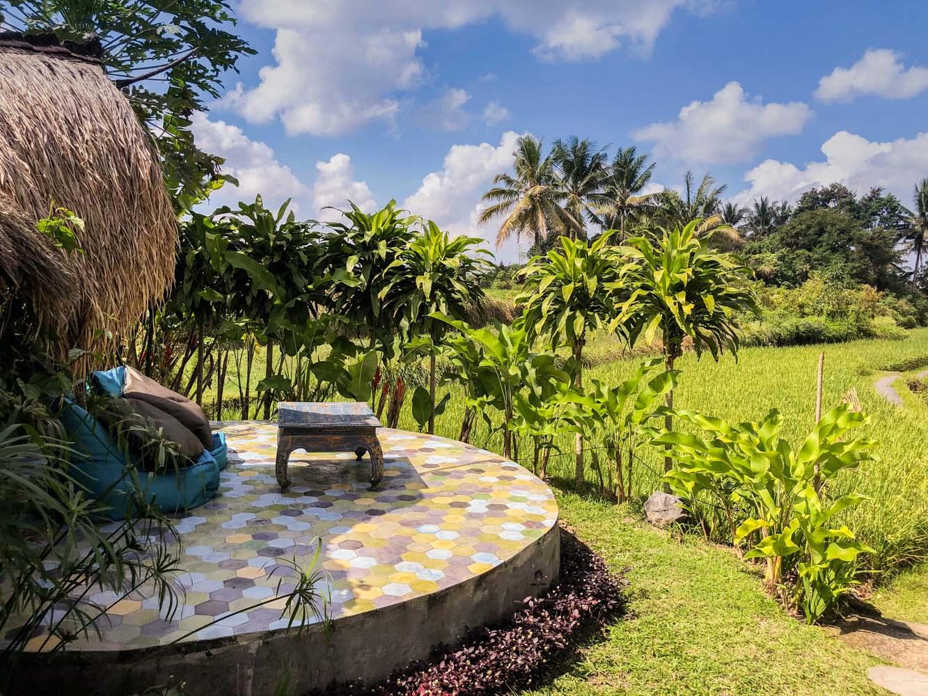 Terrace in Bali