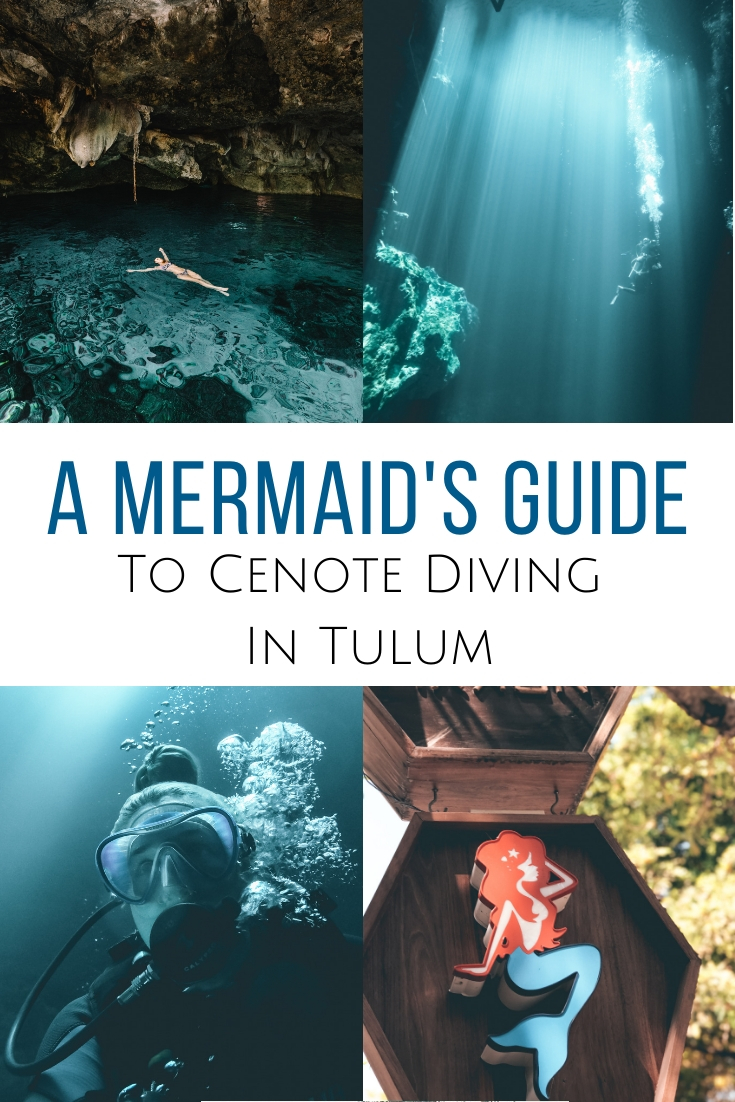 No scuba diver should miss cenote diving when coming to Mexico. All about which cenotes you should see & what to expect when moving over to the 'dark side'.  #mexico #tulum #cenote  Best cenotes in Tulum | Scuba diving in the cenotes | Cave diving in Mexico | Where to dive in Tulum | Cenotes diving in Mexico | Best cenotes for scuba diving