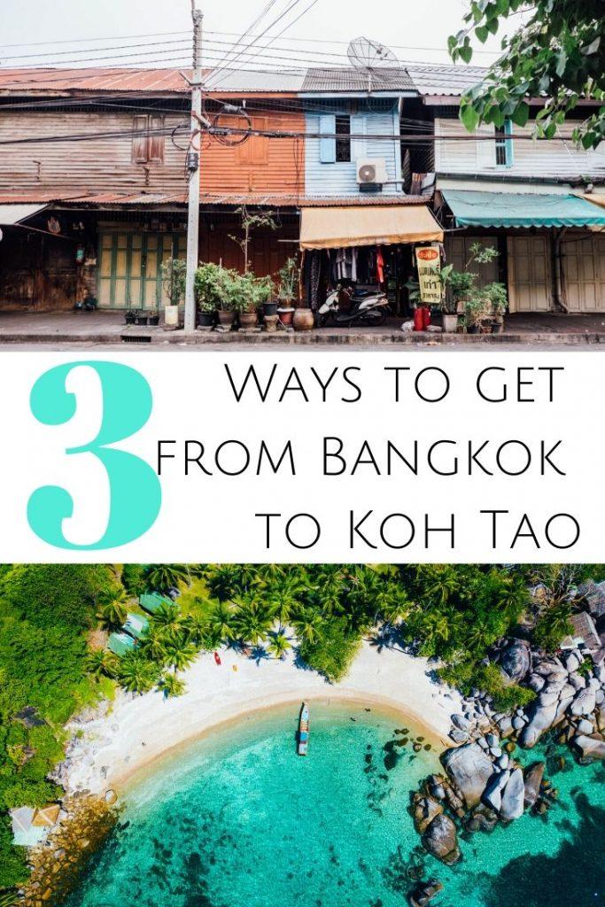 Pin for Bangkok to Koh Tao
