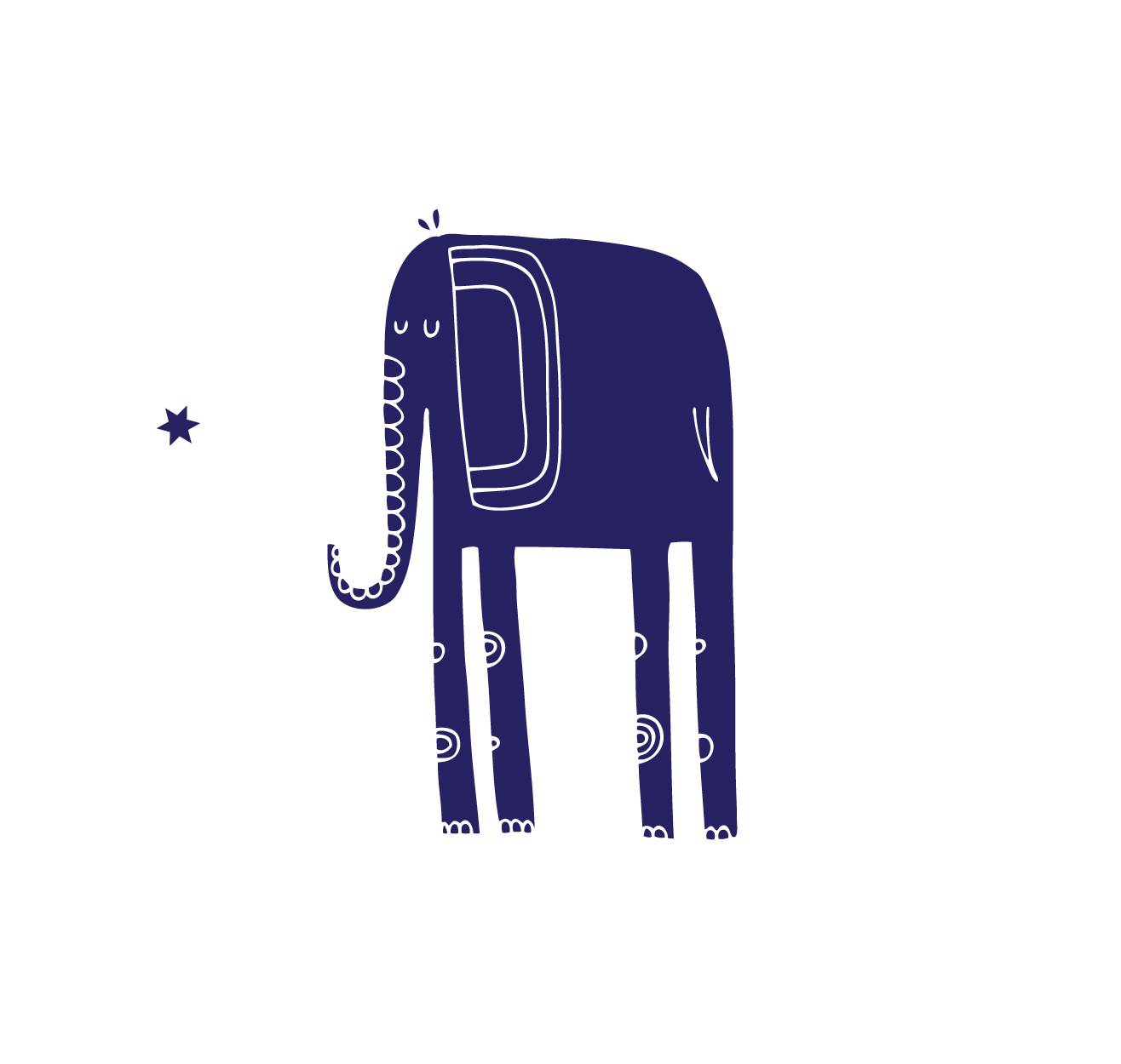 The Midnight Blue Elephant