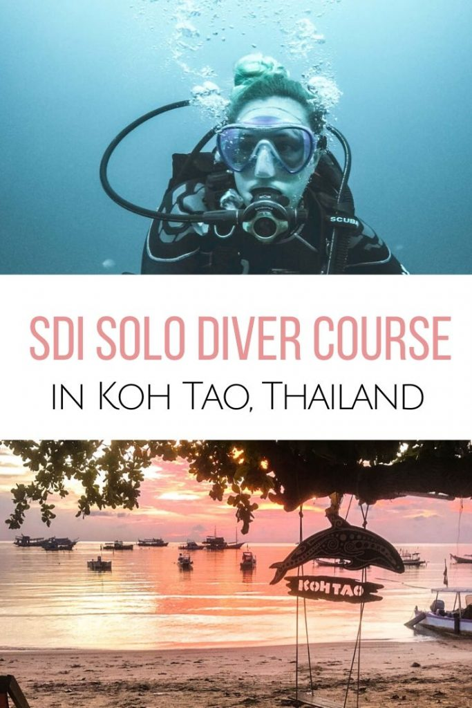 Looking to become a more self-reliant diver? Check out the SDI Solo Diver course with Big Blue Diving, Koh Tao to go solo scuba diving. Diving in Koh Tao | SDI scuba diving courses | Solo scuba diver certification in Thailand | Big Blue Tech Diving Koh Tao
